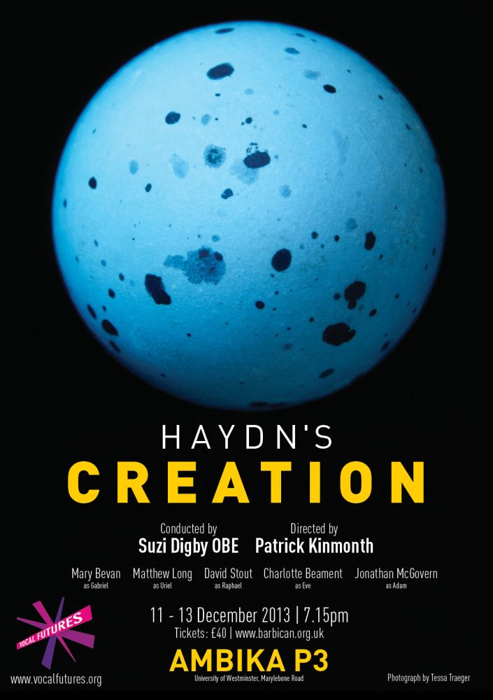 Haydn Creation Poster Flyer